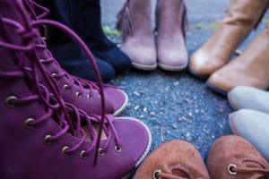 female glamping boot options