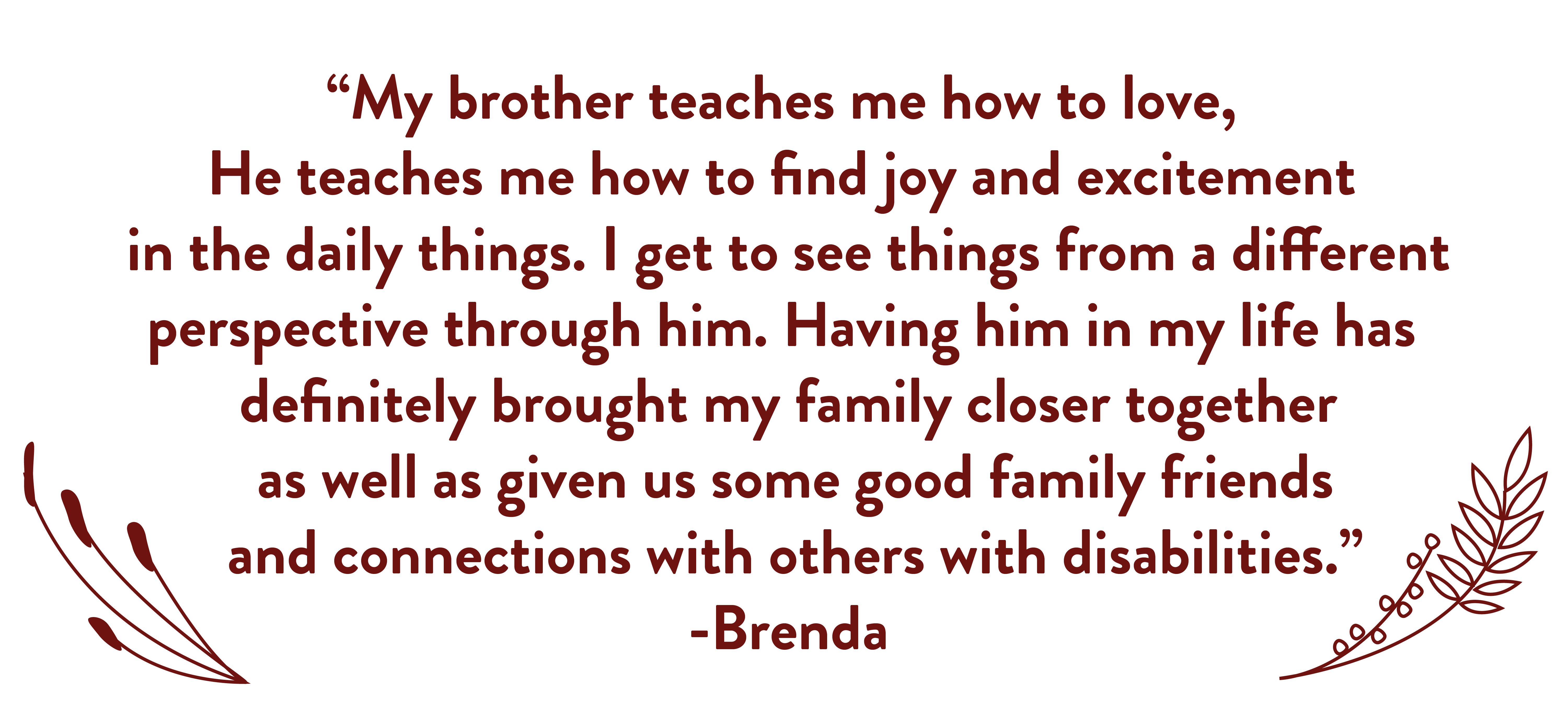 Quote from Brenda