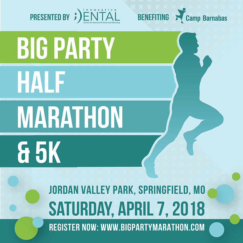 Big Party Half Marathon & 5K Poster