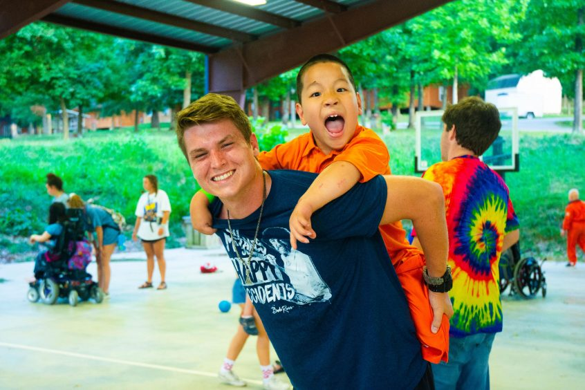 Camp Barnabas featured camper Robert Powell